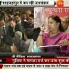 Rajasthan-CM-being-welcomed-by-Aman-Bobal-Dir-Ramada-Neemrana-Jan-Samwad-2017-Alwar